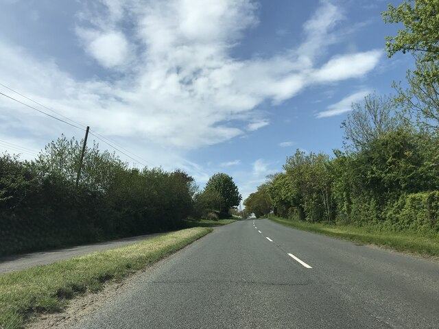 On the Badingham Road