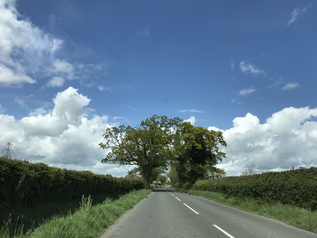 On B1110 near Brundish