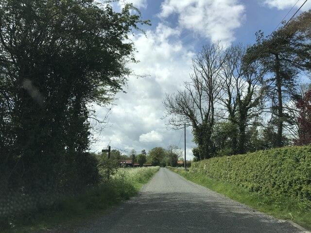 Minor Road to Brundish Street