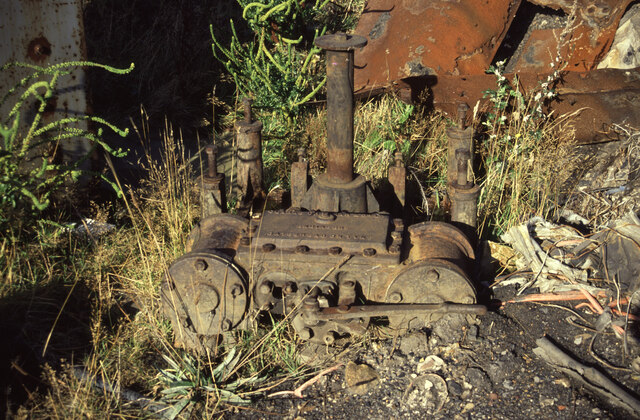 Clarke, Chapman capstan at Tanfield Railway