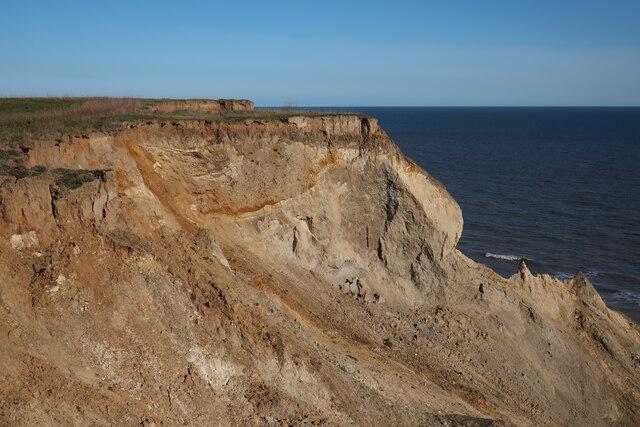 Cliffs near Trimingham