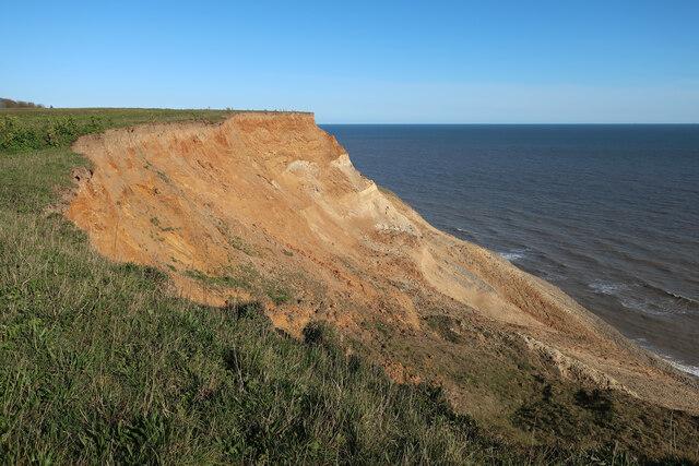 Cliffs near Sidestrand