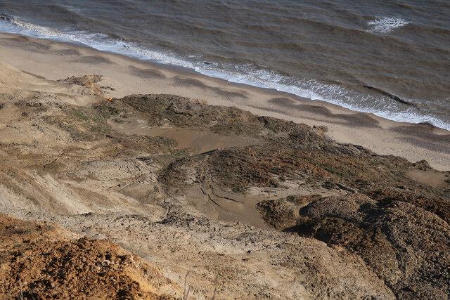 Eroding cliffs near Sidestrand