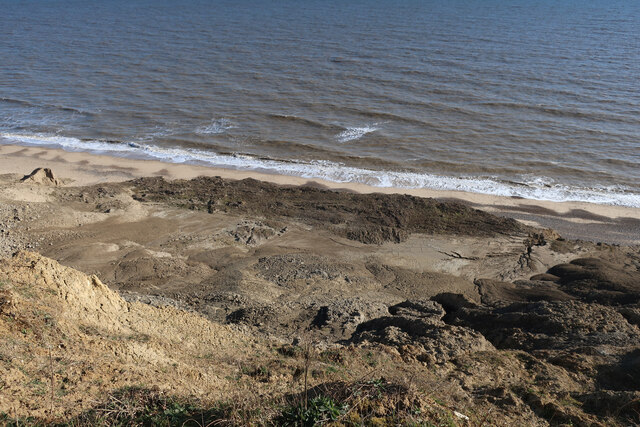 Eroding cliffs near Trimingham