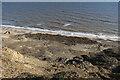 TG2739 : Eroding cliffs near Trimingham by Hugh Venables