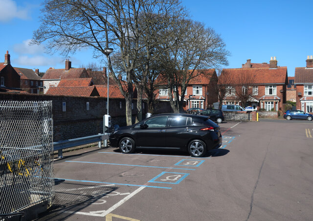 Electric car charging points, Sheringham