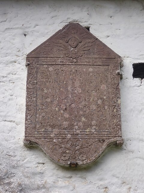 Capel-y-ffin - St Mary's Chapel - Memorial