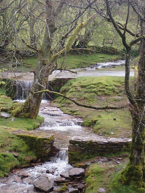 Stream and Ford at Bwlch