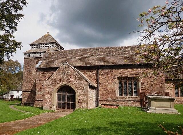 Skenfrith - St Bridget's Church