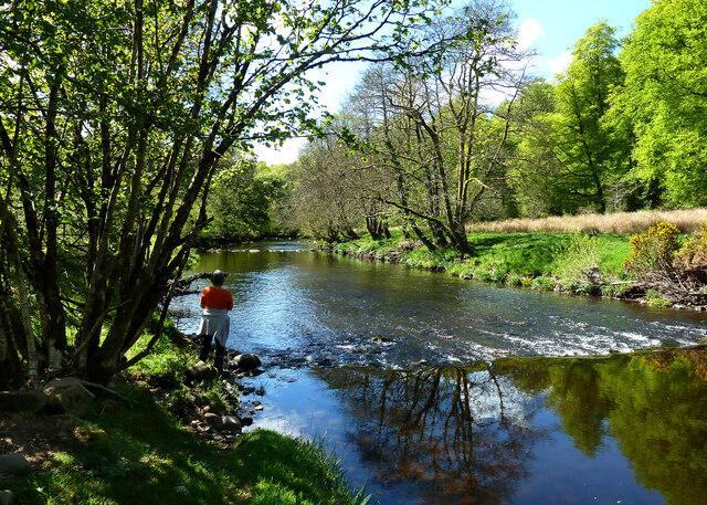 Walking by the Water of Girvan