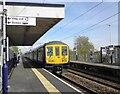 SJ8591 :  Burnage Station by Gerald England