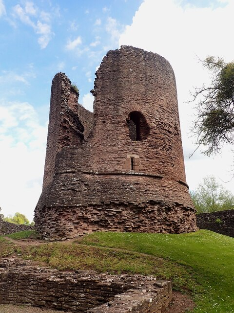 Skenfrith Castle - The Keep