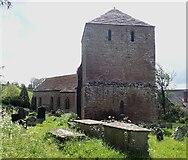 SO4522 : Garway - St Michael's Church - from entrance gateway by Rob Farrow
