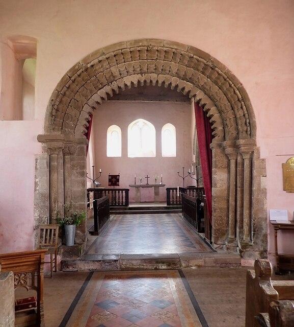 Garway - St Michael's Church - Chancel Arch