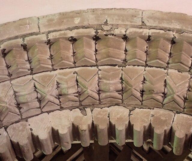 Garway - St Michael's Church - Chancel Arch - Detail