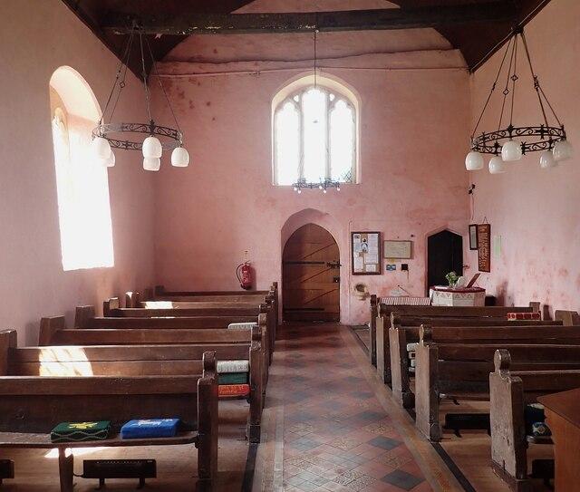 Garway - St Michael's Church - post-Templar nave