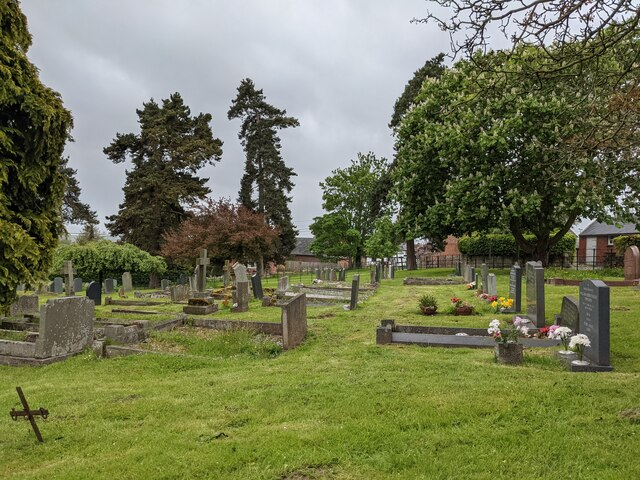 Churchyard at St. Michael & All Angels church (Eaton Bishop)