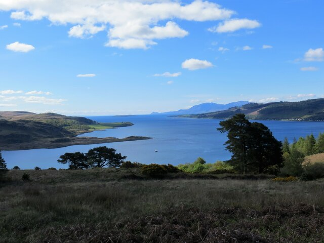Moorland above the Kyles of Bute