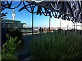 SP0686 : Rooftop garden, 7th floor, Birmingham Central Library by Alan Paxton