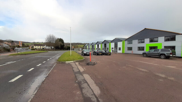 Industrial units at Longhope, 1
