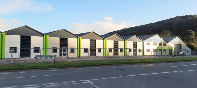 Industrial units at Longhope, 2