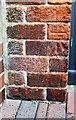 NY4154 : Benchmark on the garage of 'Nevele', Harraby Grove by Luke Shaw