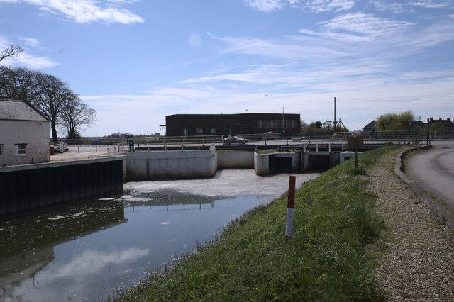 Pumping station outflow