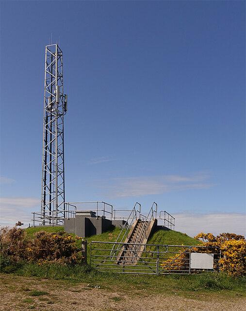 Mast and Reservoir