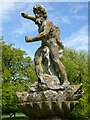 ST7475 : Neptune Statue, Dyrham Park by Philip Halling