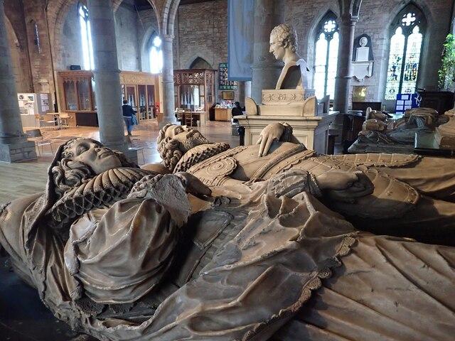 Rudhale Monuments - John & Mary