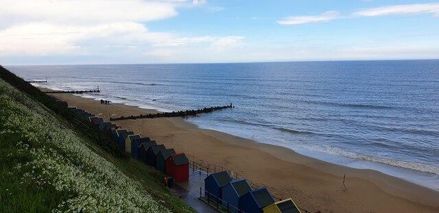 Beach, Mundesley Village, Norfolk