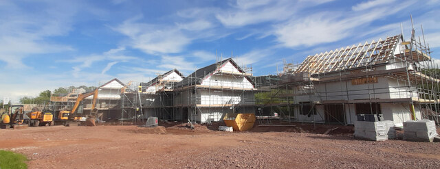 New builds at Hildersley, 3