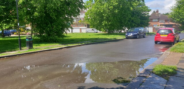 Puddle in London N14