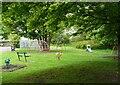 NS5574 : Playpark, Dougalston Gardens South by Richard Sutcliffe