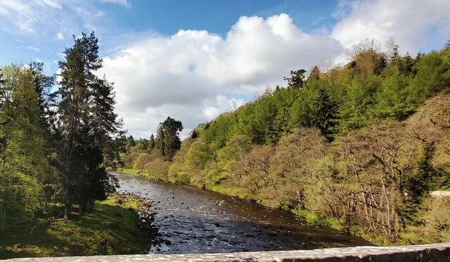 River Allen at Cupola Bridge