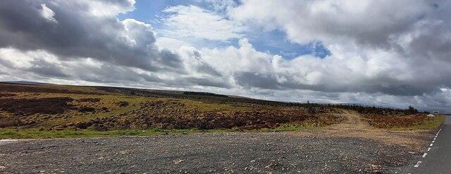 Moorland at the Cumbria - Northumberland Boundary