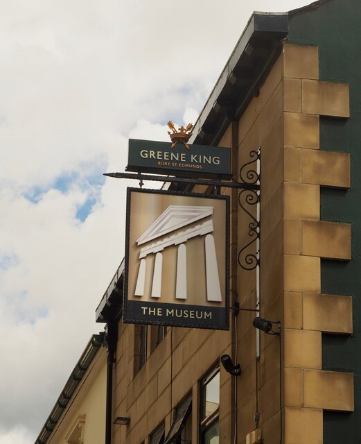The sign of The Museum