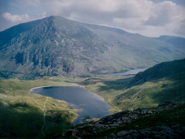 Llyn Idwal from the Devil's Kitchen path