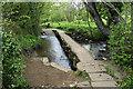 SK3562 : Clapper bridge over the River Amber by Bill Boaden