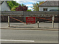 NS2060 : Flood gate on the A78 at Largs by Thomas Nugent