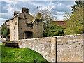 NU2406 : Warkworth Bridge Gatehouse by David Dixon