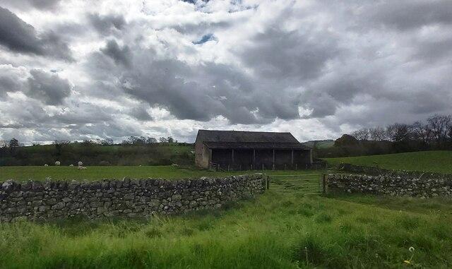 Barn near Stainton