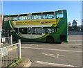 ST3188 : AA advert on a Newport Bus double-decker by Jaggery