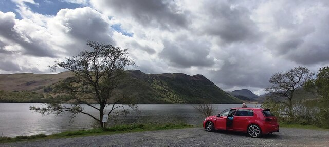 Layby at Ullswater