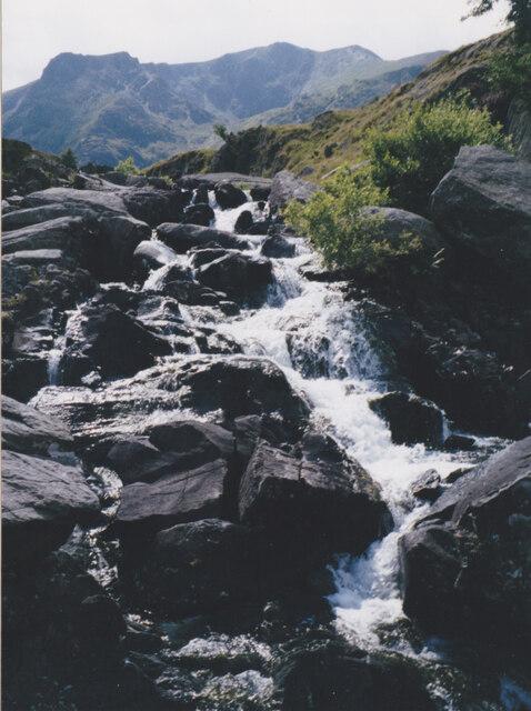 Rapids on Afon Idwal