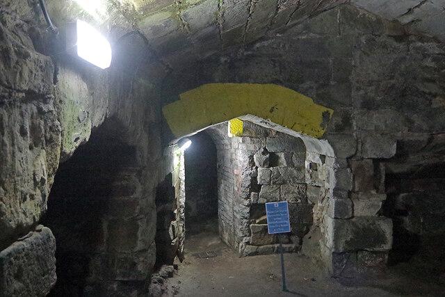 Ashby Castle - Underground Passage