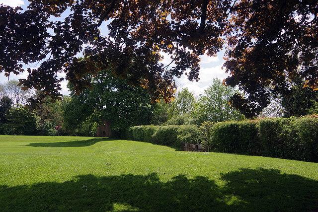 Ashby Castle - the Garden