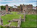 NU1241 : Priory Ruins at Holy Island by David Dixon