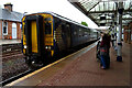 NX9776 : Dumfries Railway Station by JThomas