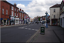 SK3516 : Market Street, Ashby-de-la-Zouch by Stephen McKay